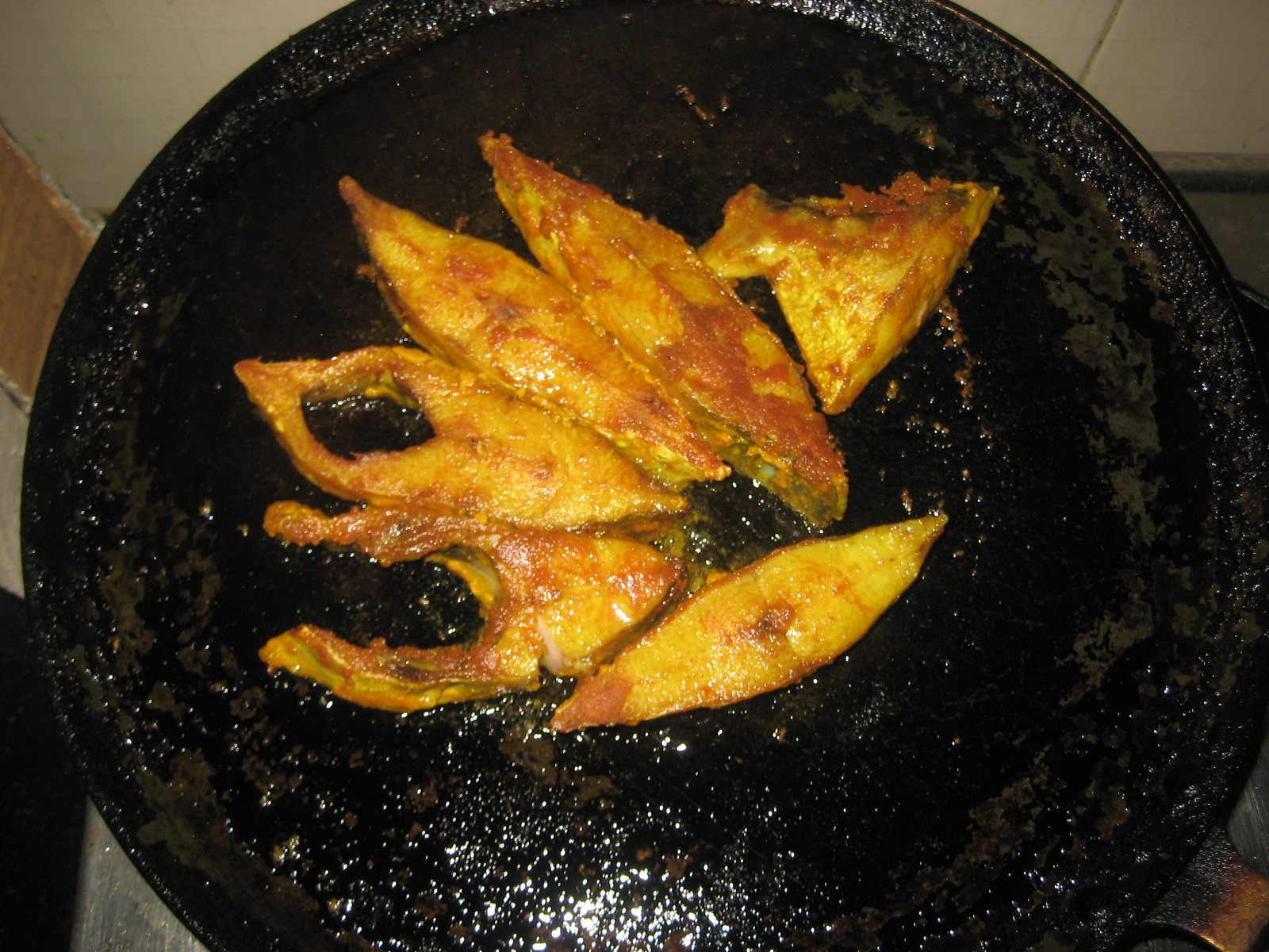Fried fish recipe indian for Fish fry recipe indian