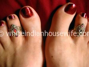 Toe rings from Orissa.