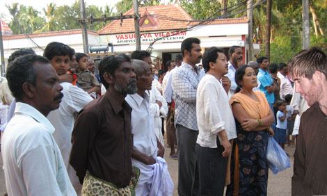Post image for The Shock of Seeing a Saip (White Person) in Kerala