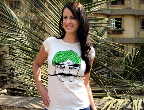 Post image for I'm in Love: No Nasties Moustache T-Shirt