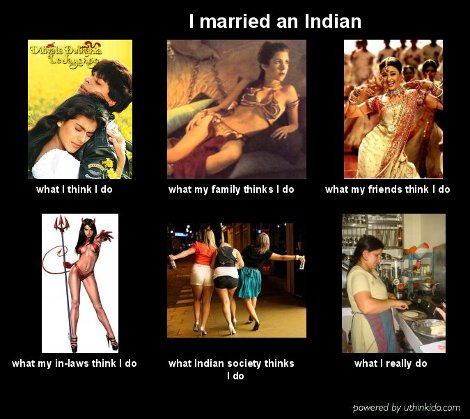 Post image for UthinkIdo: I Married an Indian