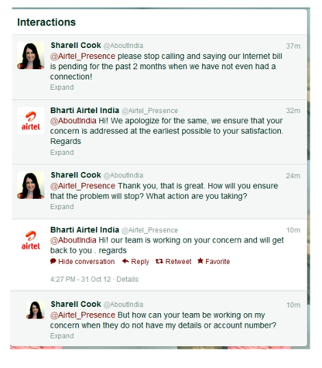 Post image for Why You Should Never Have Direct Debit Set Up With Airtel…