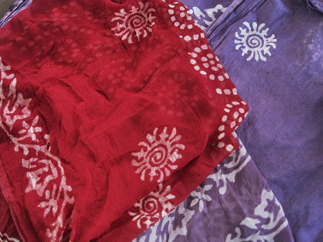 Export quality fabric and dupatta that I bought.